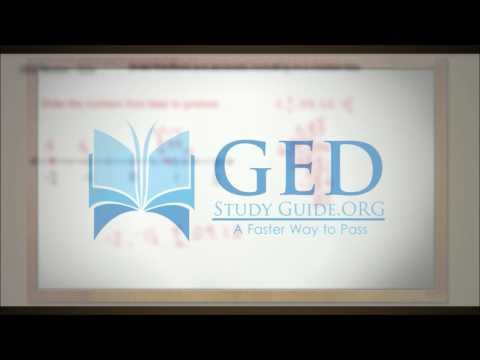 GED Study Guide Math | Fractions and Decimals on a Number Line
