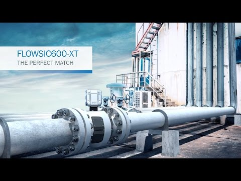 FLOWSIC600-XT From SICK: THE PERFECT MATCH  - Ultrasonic Gas Flow Meters | SICK AG