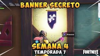 BANNER/SECRET CATEGORY loading screen Week 4 Fortnite