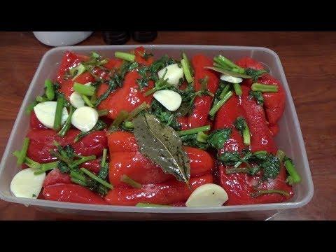 Կարմիր պղպեղ  Маринованный красный перец