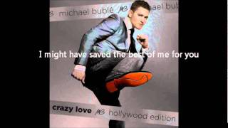 Video Best Of Me Michael Buble