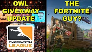 Giveaway UPDATE | Who Is The Fortnite Guy?