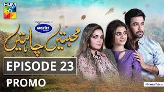 Mohabbatain Chahatain | Episode 23 | Promo | Digitally Presented By Master Paints | HUM TV | Drama