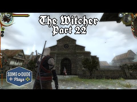 The Witcher Part 22  - Chapter 2: Old Friend Of Mine, The Crown Witness
