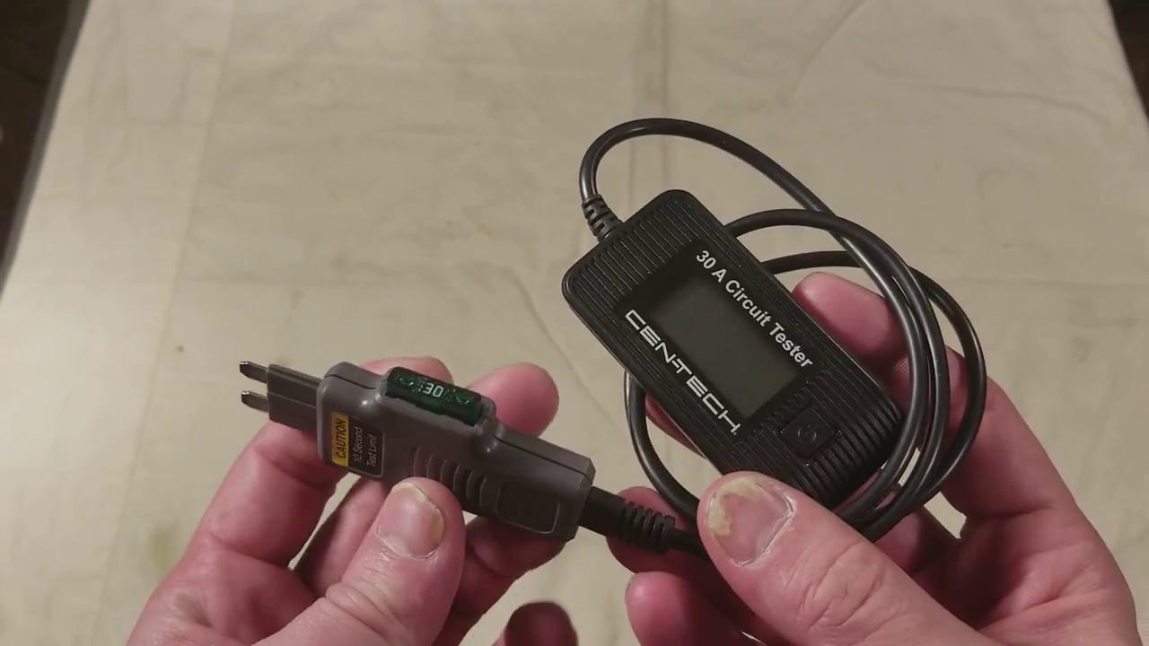 Harbor Freight Cen-Tech 67724 30 Amp Digital Blade Fuse Tester & Monitor