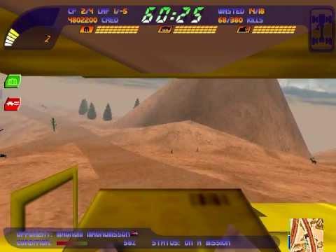 Carmageddon 2 gameplay - Helldorado |