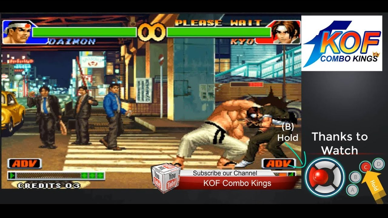 Download kof 98 Daimon Power Difference To Grip Combo