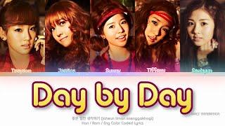 Girls' Generation (소녀시대) 좋은 일만 생각하기) (Day by Day) Color Coded Lyrics (Han/Rom/Eng)