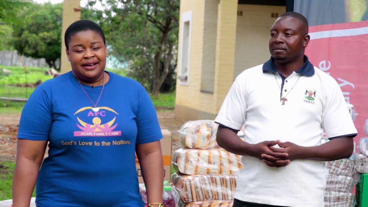 AGAPE FAMILY CARE DONATION TO MUTEMWA LEPROSY CENTRE – Christ Tv