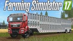CARRETA PARA TRANSPORTE DE ANIMAIS!   FARMING SIMULATOR 17   PT-BR  