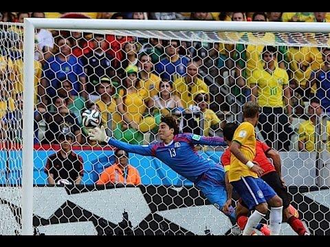 Memo Ochoa a Neymar - Mundial Brasil 2014