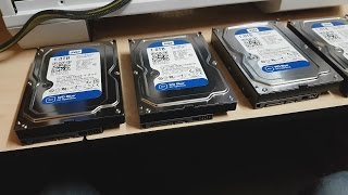 4 hard drives in Raid 0 - Installing, Benchmarking, Explaining