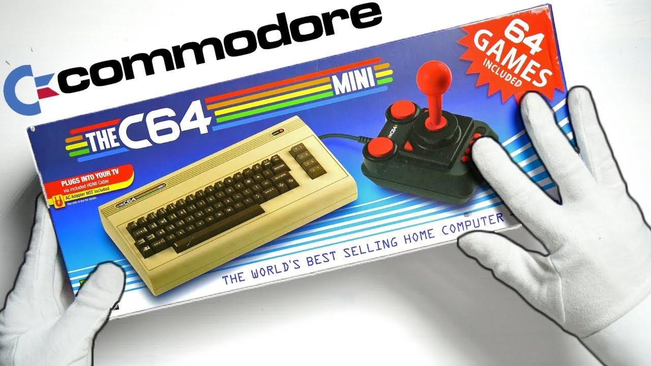 Commodore 64 Mini Unboxing! The C64 Mini HDMI Retro Console