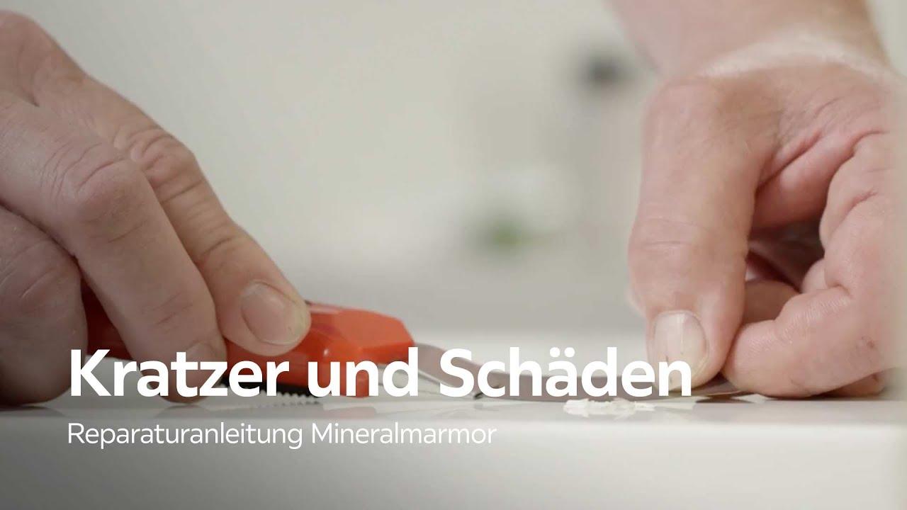 Mineralguss Waschbecken Reparieren Xxxlutz Youtube