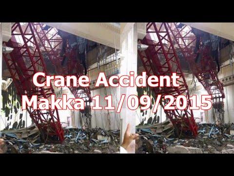 Crane Accident Mecca 11/09/2015 - YouTube