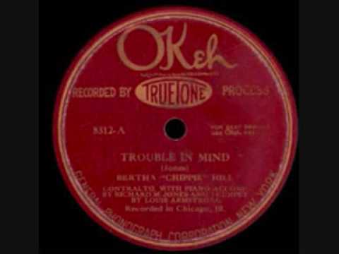 Trouble In Mind (1926)