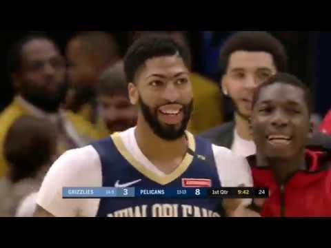 Anthony Davis (25 points) Highlights New Orleans Pelicans vs  Memphis Grizzlies