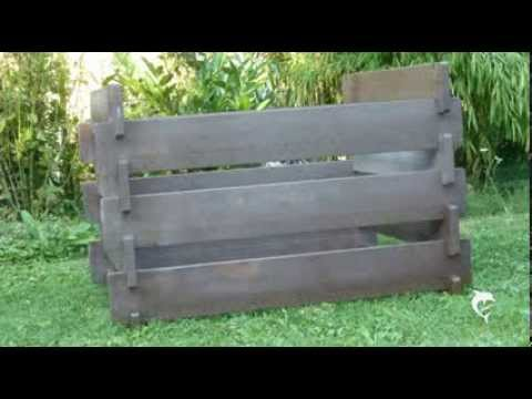 gartenkomposter komposter aus recycling kunststoff youtube. Black Bedroom Furniture Sets. Home Design Ideas