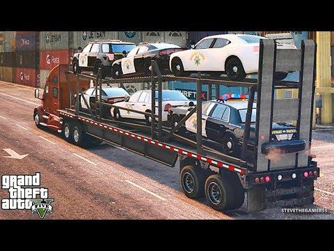 GTA 5 REAL LIFE MOD #339 NEW CHP DELIVERY !!! (GTA 5 REAL LIFE MODS)