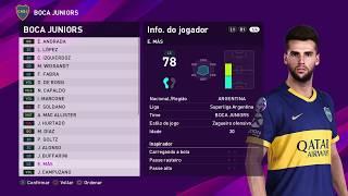 PES 2020 TODAS AS FACES REAIS LIGA ARGENTINA !