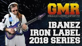 Ibanez Iron Label 2018 RGIX-DLB Review (Studio Quality)