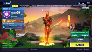 THE TRÉSOR ARE REALLY CHEATE - BIENTOT FACECAM - Live fortnite ps4