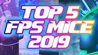 Top 5 FPS Gaṁing Mice of 2019!!