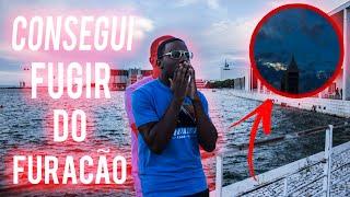 FUI EM BUSCA DO FURACÃO LESLIE !