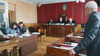 Виступ представника Наталії Ващенко Володимира Твердохліба у суді під час дебатів
