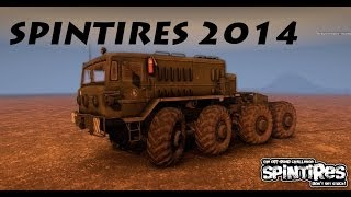 SpinTires 2014 Gameplay (PC)
