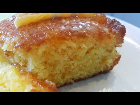 gâteaux-a-l'orange-arrosé-كيكة-البرتقال