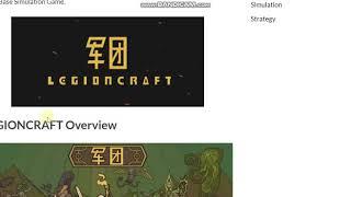 LEGIONCRAFT PC Game Free Download
