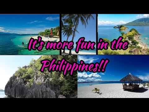 5 BEAUTIFUL PLACES  TO VISIT IN THE PHILIPPINES