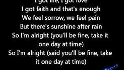 Jake Miller- I'm alright Lyrics