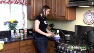 Serving Dog Food