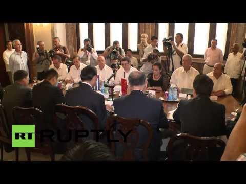 Cuba: Chinese FM kicks off Latin America trip in Havana