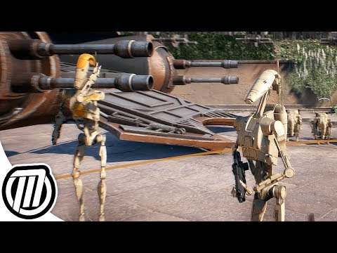 Star Wars Battlefront 2: CLONE WARS | DROID ARMY GAMEPLAY - AAT, MTT, Vulture, B2 Super Battle Droid