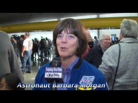 ASTRONAUT BARBARA MORGAN in LA 2012