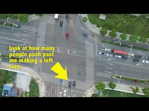 BCD: TRYING TO CROSS AN INTERSECTION IN CHINA
