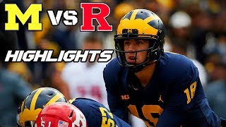 Michigan vs Rutgers - Game Highlights