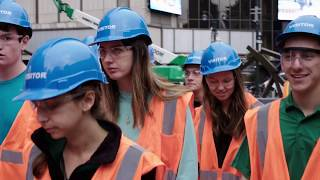 Notre Dame CEEES Visits the Moynihan Train Hall project