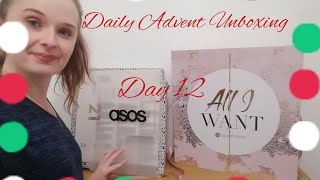 DAY 12 GLOSSYBOX & ASOS ADVENT CALENDAR