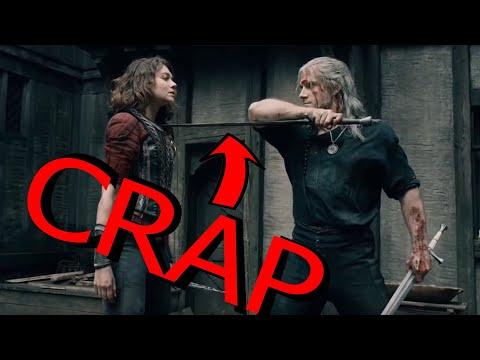 Why Kylo Ren and Geralt of Rivia are crap swordsmen!