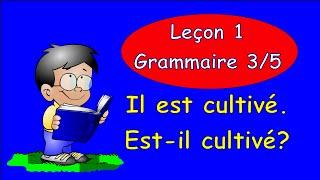 Уроки французского языка. Грамматика Часть 3 - вопросительные предложения #французскийязык