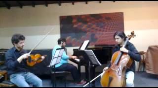 Beethoven Piano Trio in E-flat major, WoO 38; III mov. (1790-1791)