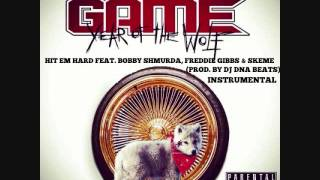 The Game   Hit Em Hard Feat  Bobby Shmurda, Freddie Gibbs & Skeme [Instrumental] (Prod by @DJDNA89)