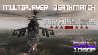 Air Missions: HIND Multiplayer Deathmatch PC Gameplay 60fps 1080p