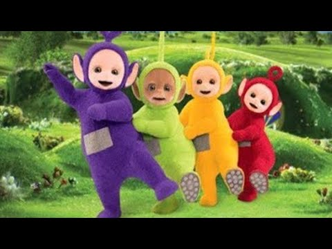 Teletubbies | Wheels on the bus go round and round | Learn Nursery Rhymes for Kids