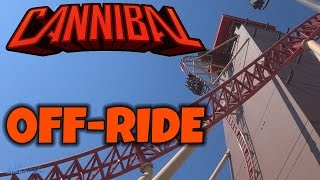 Cannibal With & Without Riders Off-ride (HD) Lagoon Park