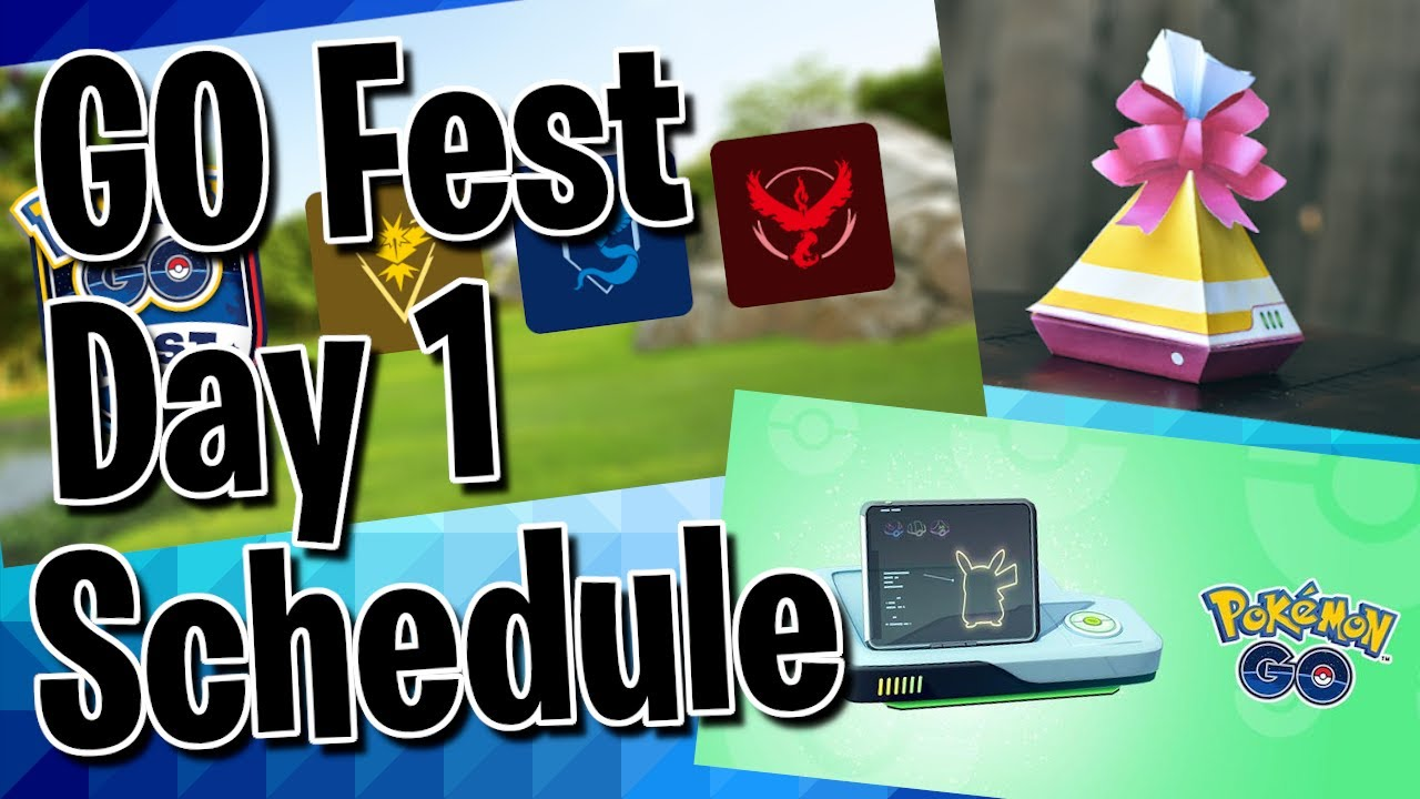 Pokemon GO Fest 2020: A Warning About Opening Gifts During ...